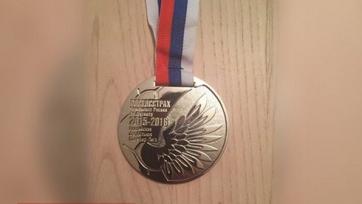 На медалях, которые получил «Ростов», в слове Россия одна буква «с»