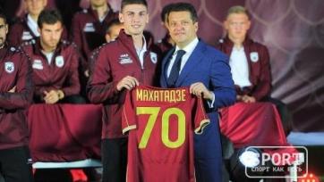 Официально: Махатадзе перешёл в «Рубин»