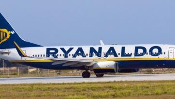 Ирландская авиакомпания Ryanair переименовала самолёт в честь Роналду?