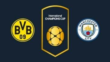 Боруссия – Манчестер Сити, прямая онлайн-трансляция. Стартовые составы команд