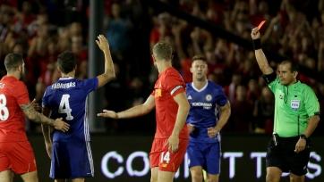 Конте: «Я приношу свои извинения за красную карточку Фабрегаса»