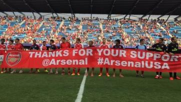 «Арсенал» в товарищеском матче обыграл сборную звёзд МЛС