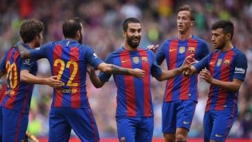 «Барселона» уверенно расправилась с «Селтиком»