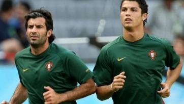 Луиш Фигу: «Роналду?  Нет никого лучше Эйсебио»