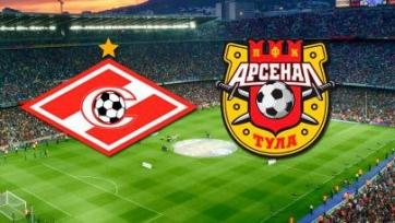 Спартак – Арсенал, онлайн-трансляция. Стартовые составы команд