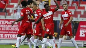 «Спартак» забил четыре безответных гола тульскому «Арсеналу»