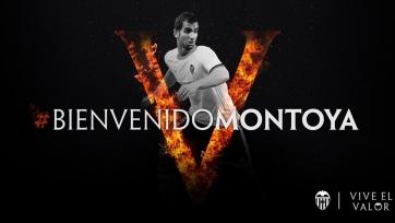 Официально: Монтойя – футболист «Валенсии»