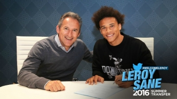 Официально: Лерой Сане – игрок «Манчестер Сити»
