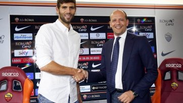 Официально: Фасио подписал арендный договор с «Ромой»