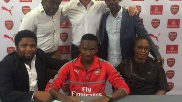 Официально: Лондонский «Арсенал» усилился молодым нигерийцем