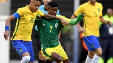 Неймар не сумел отличиться в первом матче бразильской сборной на Олимпиаде