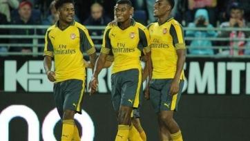 «Арсенал» забил восемь безответных мячей «Викингу» из Ставангера