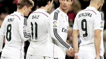 «Реал» будет играть с «Севильей» без Крооса, Бэйла и Роналду