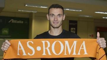 Вермален: «Счастлив стать футболистом «Ромы»