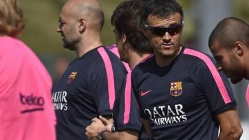 Луис Энрике: «На данный момент состав «Барсы» - сильнейший за последние годы»