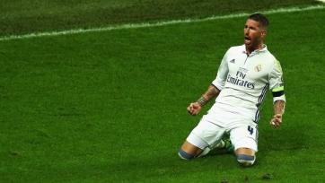 Рамос стал третьим футболистом «Реала», забившим в трёх финалах еврокубков