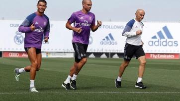 Пепе и Роналду вернулись в расположение мадридского «Реала»