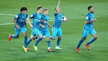 Питерский «Зенит» одержал волевую победу над «Ростовом»