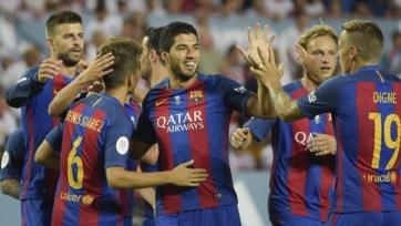 «Барселона» обыграла «Севилью» в первом матче на Суперкубок Испании