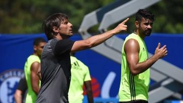 Конте хочет, чтобы Коста забил 30 голов в этом сезоне
