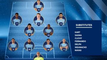 «Стяуа» - «Манчестер Сити». Стартовый состав «горожан»