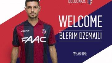 Официально: Блерим Джемаили будет выступать в «Болонье»