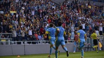 «Астана» на своём поле переиграла белорусский БАТЭ