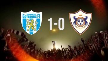 «Гётеборг» с минимальным счётом обыграл «Карабах»