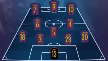 «Барселона» - «Бетис». Стартовые составы команд