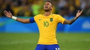 Неймар разрыдался после победы бразильцев на Олимпиаде