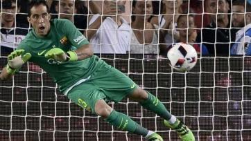 Клаудио Браво пропустил тренировку «Барселоны»