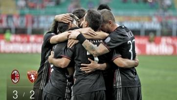 Хет-трик Бакки помог «Милану» одержать победу над «Торино»