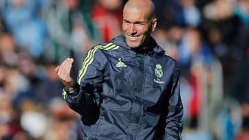 Зидан: «Мои игроки отлично справляются со своей работой»