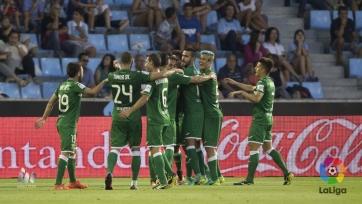 «Леганес» обыграл в Виго «Сельту», добыв победу в своём дебютном матче в Примере