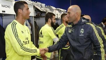 Роналду: «Благодаря Зидану «Реал» прибавил и выиграл Лигу чемпионов»