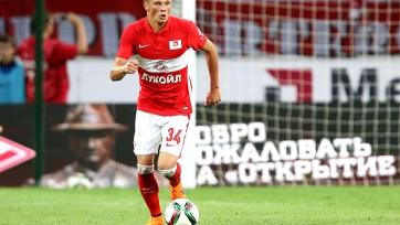 Макеев снова тренируется в общей группе «Спартака»