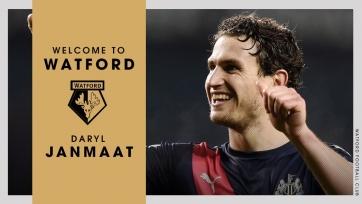 Официально: Янмаат – футболист «Уотфорда»