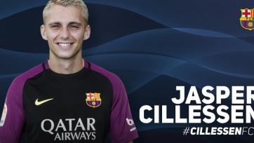 Официально: «Барселона» подписала контракт с Силлессеном