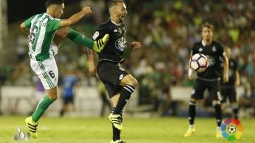 «Бетис» и «Депортиво» разошлись миром в стартовом матче второго тура Примеры