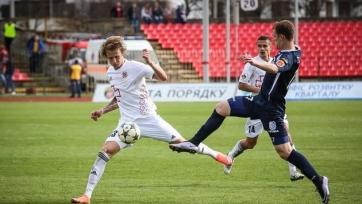 «Черноморец» вырвал победу в схватке с «Волынью»