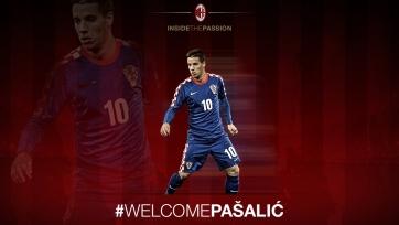 Официально: «Милан» арендовал Пашалича