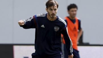 Александр Ерохин вызван в сборную России