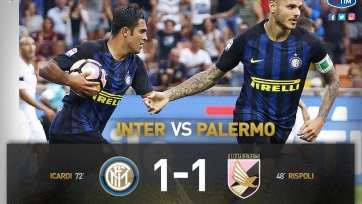 «Интер» не сумел переиграть «Палермо»