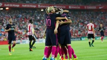 «Барселона» с минимальным счётом обыграла на выезде «Атлетик»