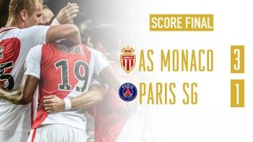 «Монако» остановил ПСЖ, нанеся парижскому клубу первое поражение в нынешнем сезоне