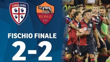 «Рома» упустила победу в матче с «Кальяри»