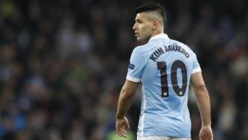 Агуэро может пропустить матч против «Манчестер Юнайтед»