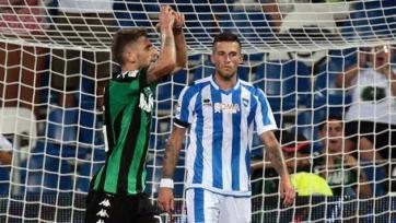 «Сассуоло» получил техническое поражение в матче с «Пескарой»
