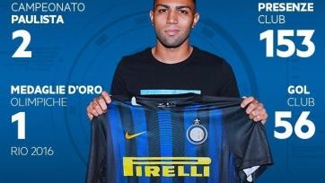 Официально: Габигол стал игроком «Интера»