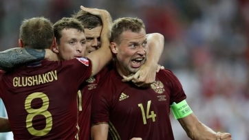 Сегодняшний матч сборной России начнётся на 15 минут позже